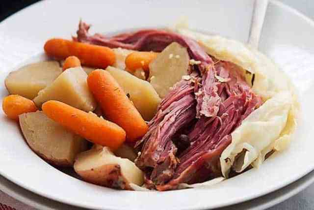 One Pot Corned Beef and Cabbage