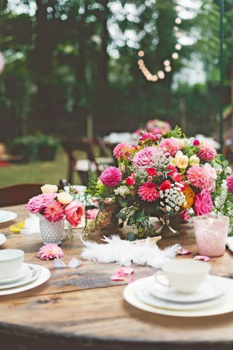 A Vintage Inspired Tea Party -- A New Twist in an Old Favorite. 31Daily.com