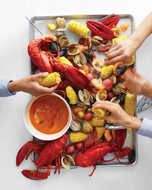 Stove Top Clambake - summer's most festive meal -- recipe and how to at 31Daily.com