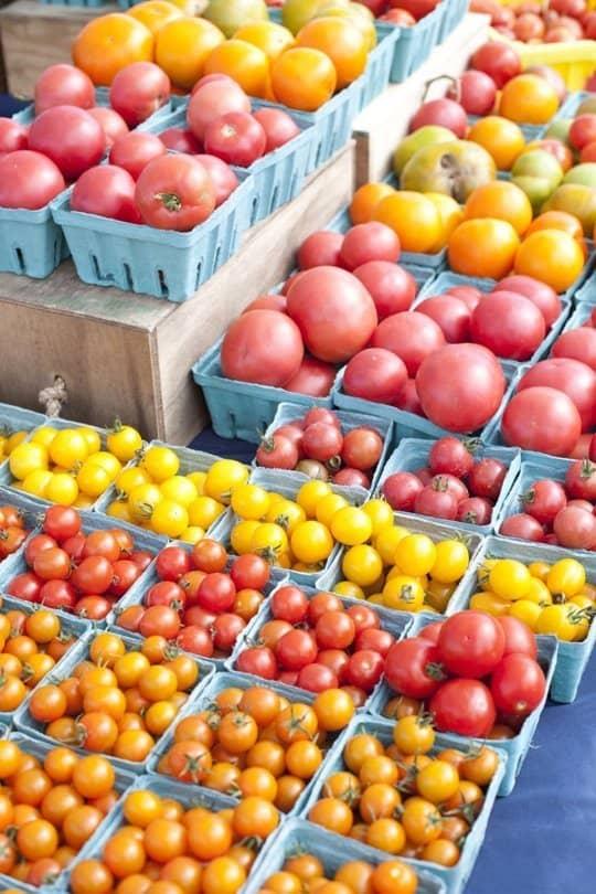 Farmer's Market Tomatoes at 31Daily.com
