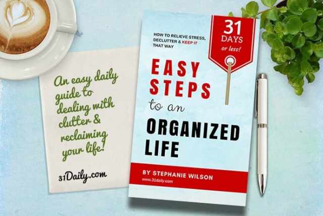 Easy Steps to an Organized Life in 31 Days | 31Daily.com