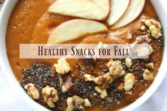 15 Enticing and Healthy Snacks for Fall