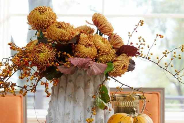 Inspiring Warmth in the Making of an Autumn Home