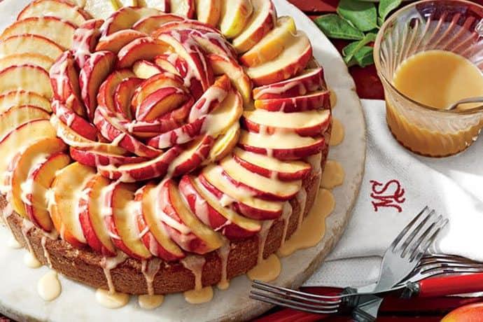 Easy Apple Cake Recipe Scratch