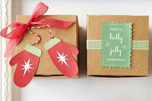 Easy Christmas Gift Tags to DIY