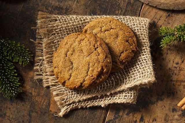 Soft and Chewy Giant Molasses Cookies