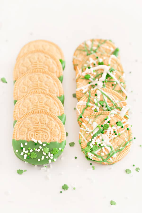 Green St Patrick's Day Treats that are Mostly Easy | 31Daily.com