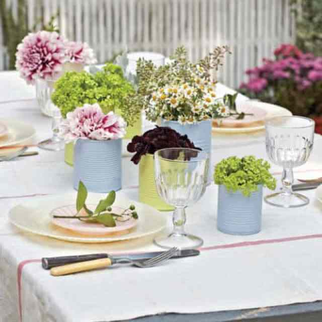 15 Gorgeous and Easy Spring Table Settings for Your Next Party | 31Daily.com