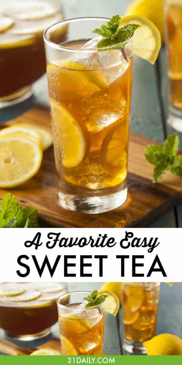 Sweet Tea is a Perfect Elixir of Summer | 31Daily.com