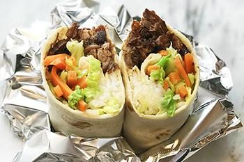 Korean BBQ Bulgogi Wraps Made Easy in the Slow Cooker | 31Daily.com