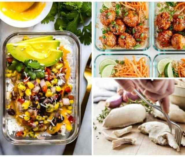 5 Easy Ways To Meal Prep For The Week Plus Healthy Recipes To Try 31daily