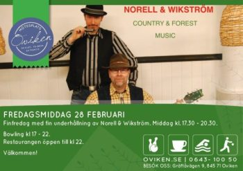 NORELL & WIKSTRÖM med Country & Forest Music
