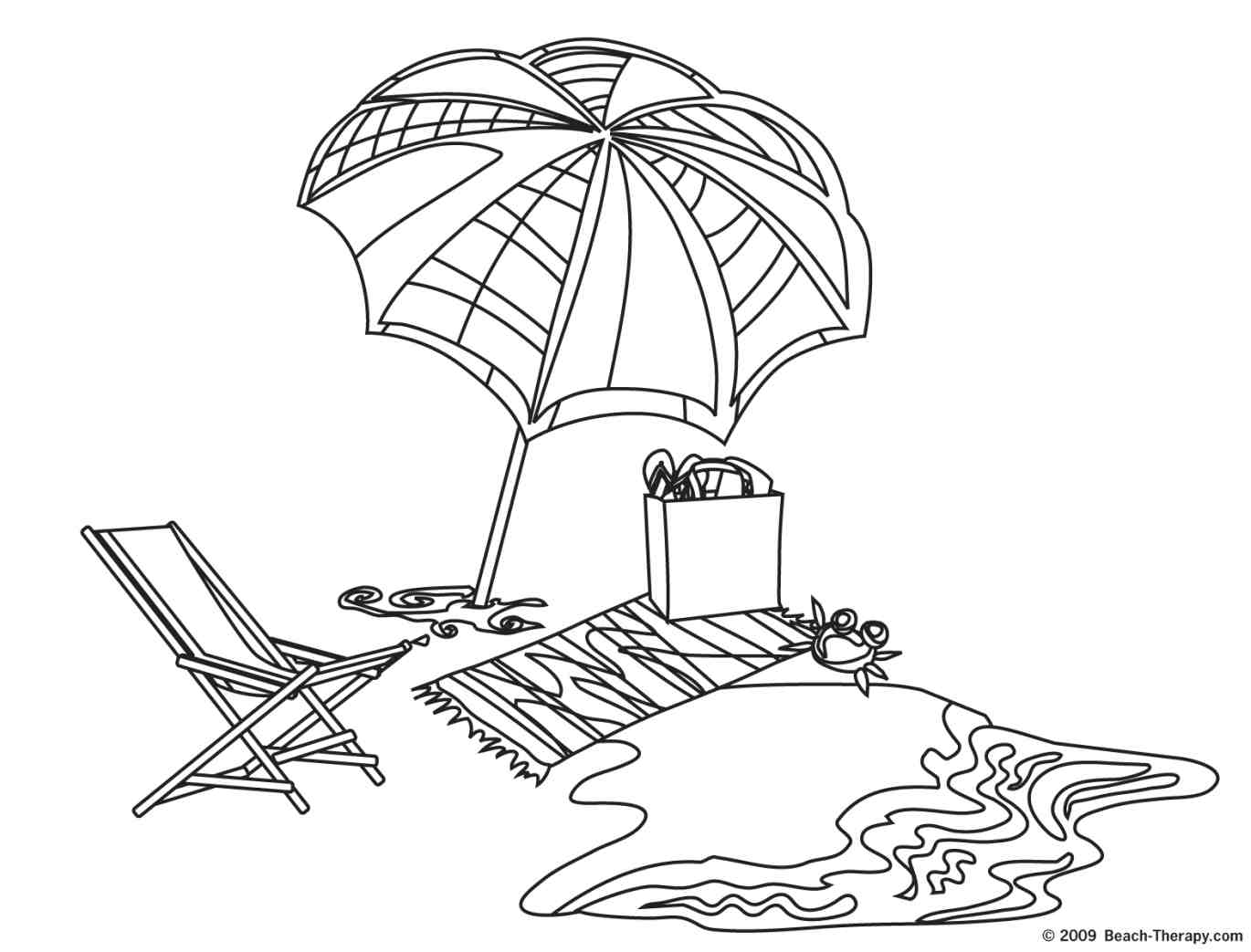 beach scene coloring page beach scene coloring pages for kids