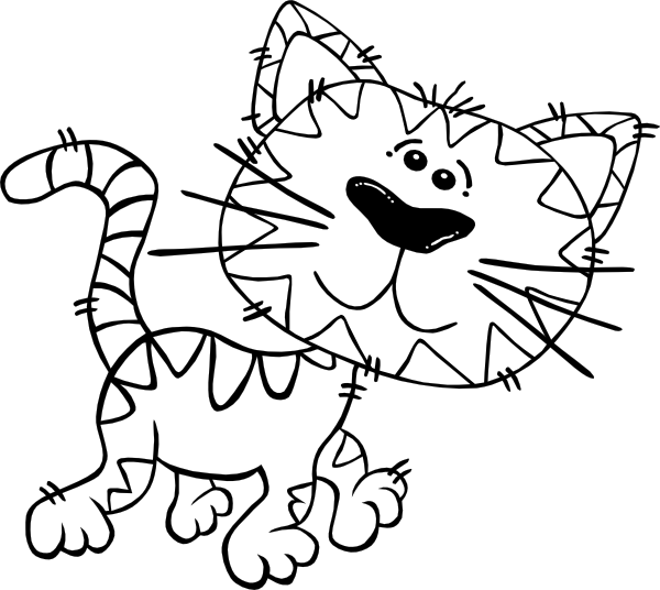 kitten coloring pages 2 coloring pages to print