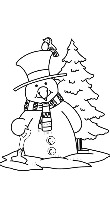 snowman coloring pages 8 snowman coloring pages 9 snowman coloring