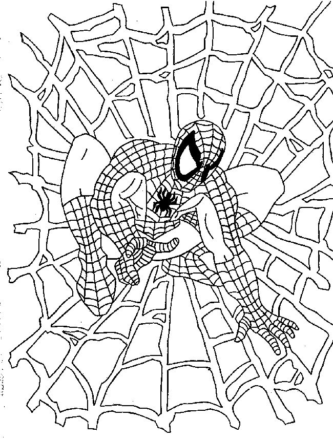 spiderman coloring pages free coloring pages printable