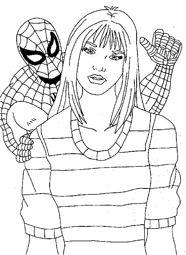 spiderman coloring pages 2 coloring pages to print