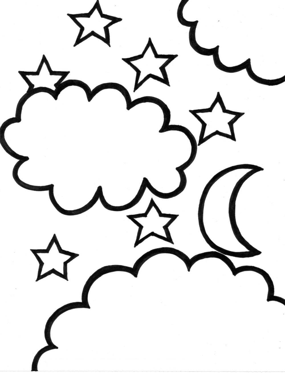 star coloring pages coloring pages to print