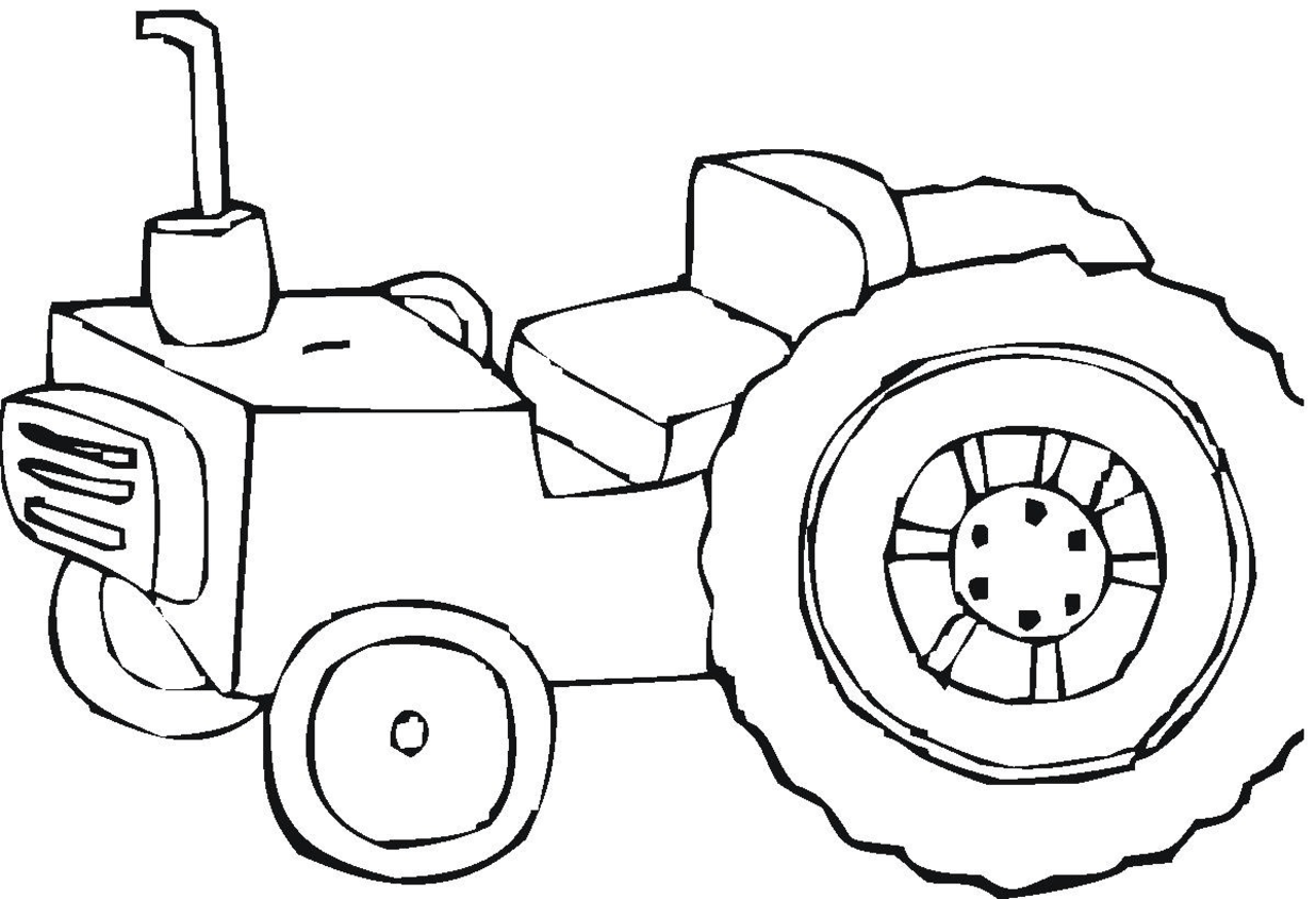 Tractor Coloring Pages 3
