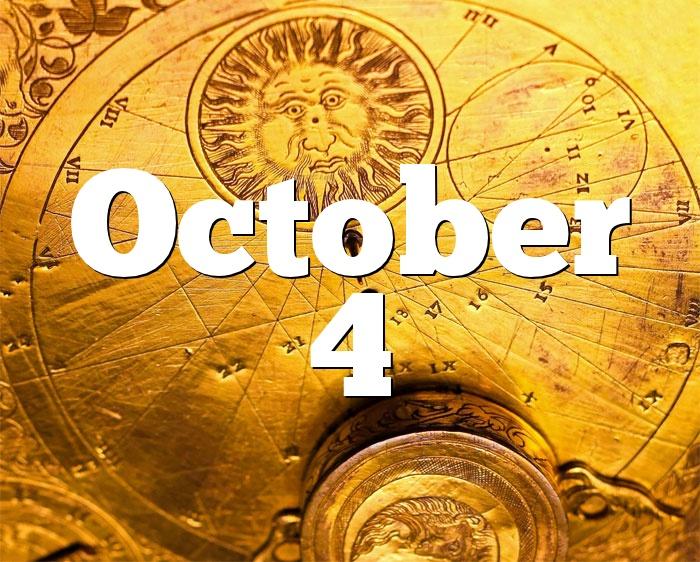 October 4 Birthday Horoscope Zodiac Sign For October 4th