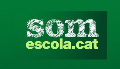 Logotip de la plataforma Som Escola