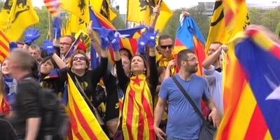 Manifestació a Brussel·les.