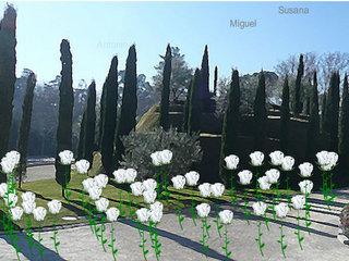 Imatge del web per fer un homenatge virtual a les víctimes de l'11-M