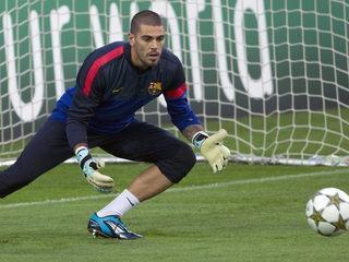 Valdés no passa pel seu millor moment (Foto: EFE)