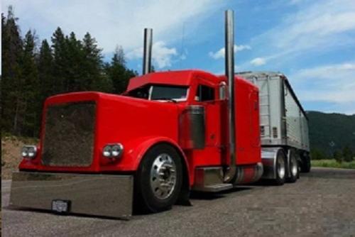 304 stainless semi truck 8 chino exhaust kits