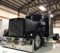 semi truck exhaust monster stack kits