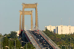 Perspective sur le trafic du pont d'Aquitaine