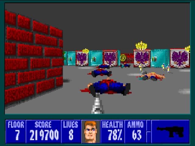 Wolfenstein 3D  corpses