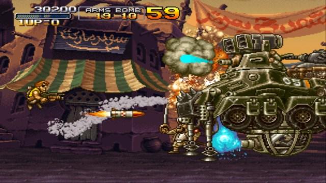 Metal Slug X level 1