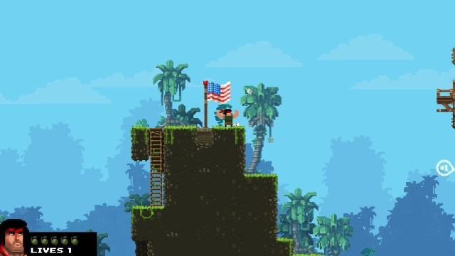 Broforce flexing for freedom