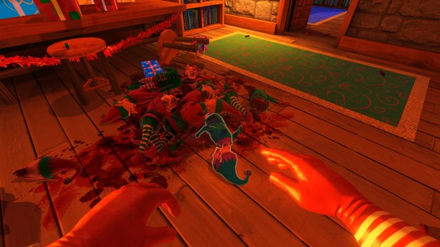 Viscera Cleanup Detail: Santa's Rampage corpse