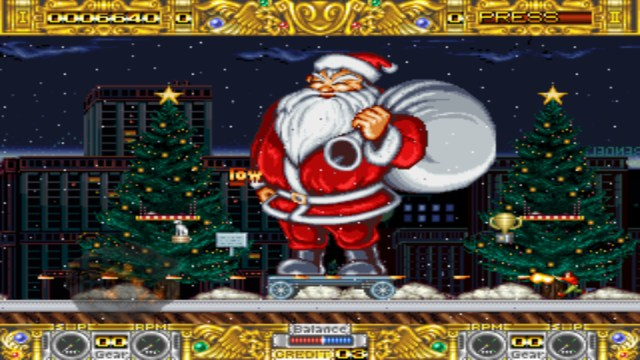 Boogie Wings santa