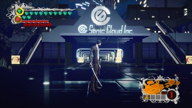 Killer is Dead sonic cloud