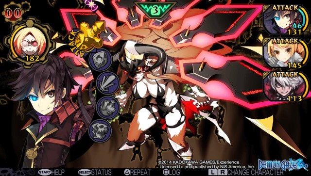 Demon's Gaze demon true form