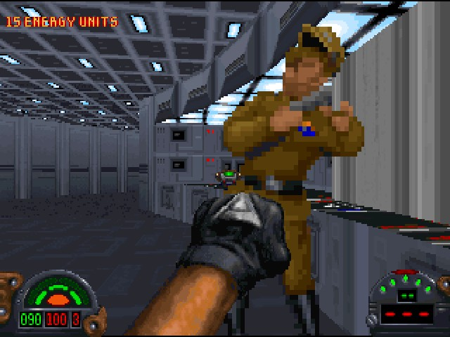 Star Wars: Dark Forces knock out