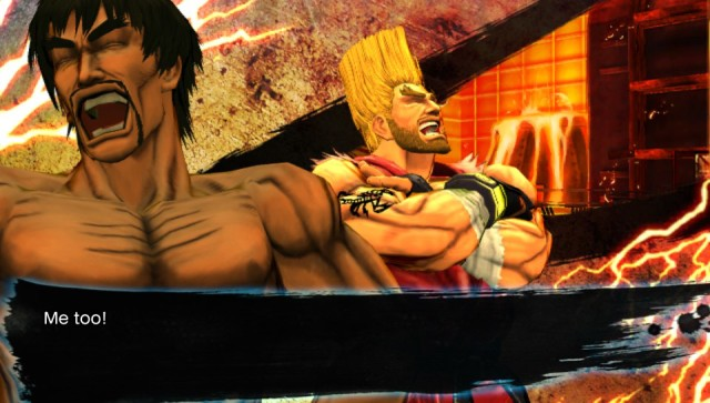 Street Fighter X Tekken troll face