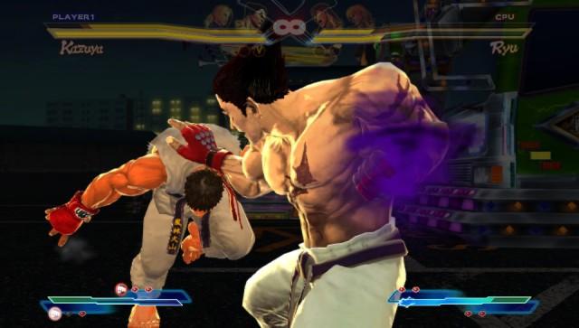 Street Fighter X Tekken falcon punch!