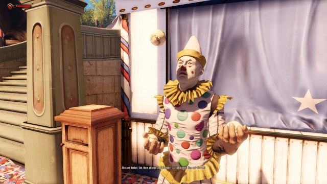 Bioshock Infinite clown
