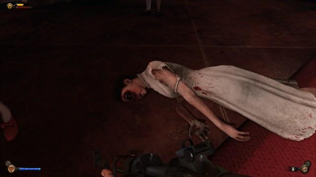 Bioshock Infinite corpse
