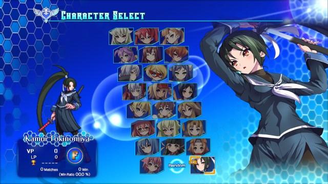 Arcana Heart 3 Characters
