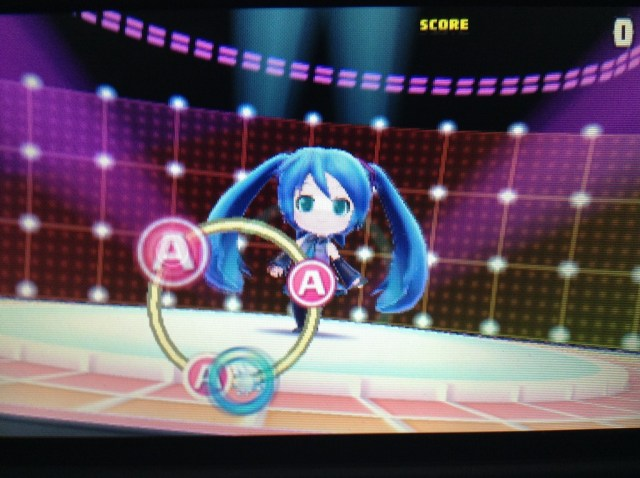 Hatsune Miku 3DS gameplay
