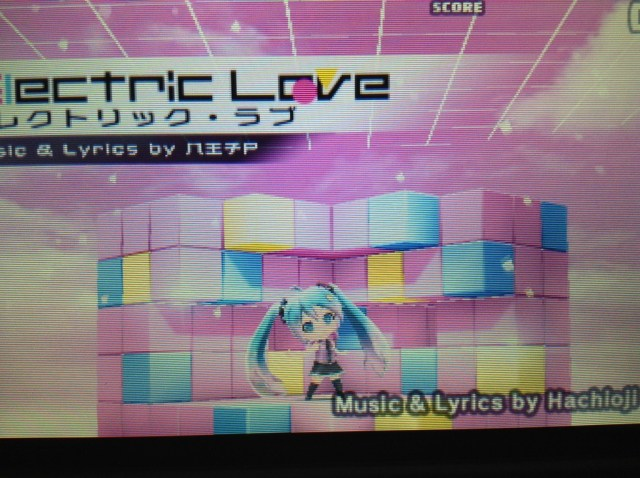 Hatsune Miku Electric Love