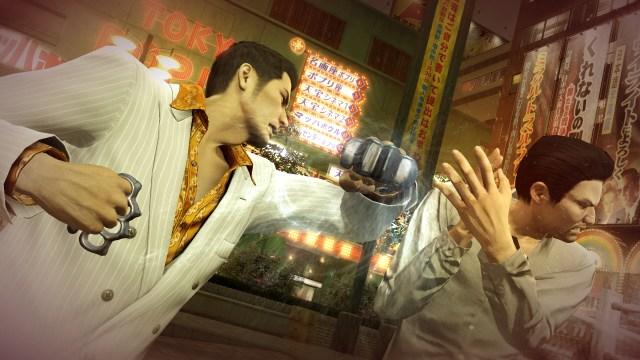 Yakuza 0 fight
