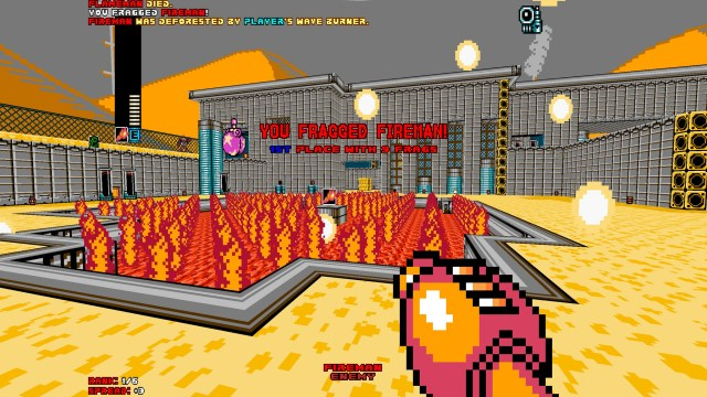 Mega Man 8-Bit Deathmatch hazard