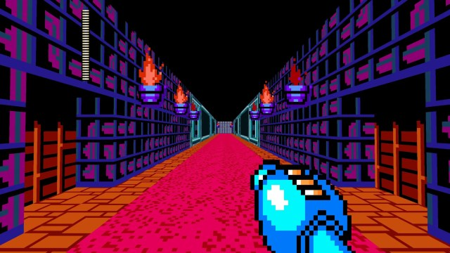 Mega Man 8-Bit Deathmatch level