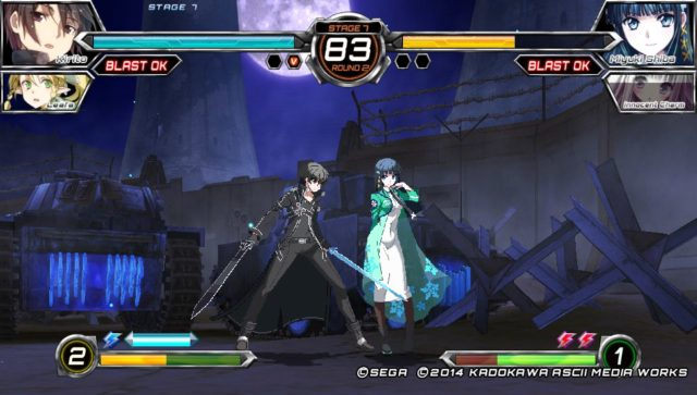 Dengeki Bunko Fighting Climax fight
